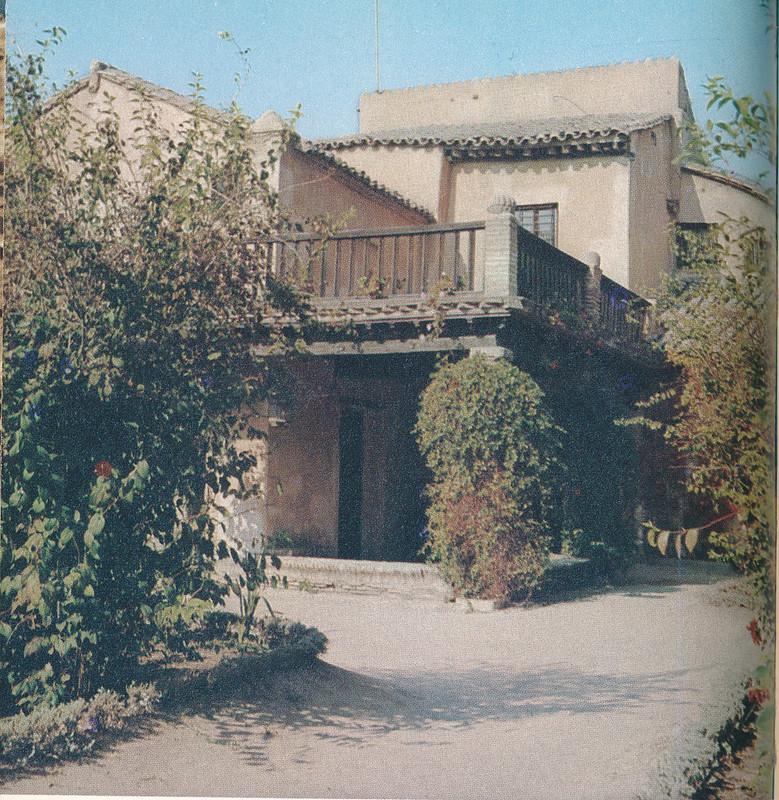 Museo del Greco en Toledo hacia 1970 fotografiado por Mario Carrieri