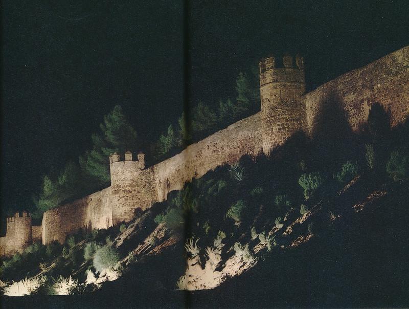 Murallas de Toledo hacia 1970 fotografiadas por Mario Carrieri