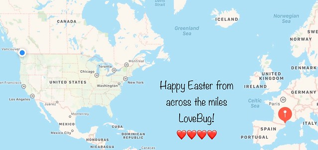 Easter Greetings across the miles