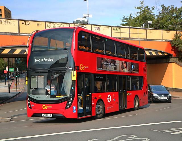 Go Ahead London Central - EH266 - SN18KLX