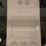 Palau Declaration of Independence, Belau National Museum