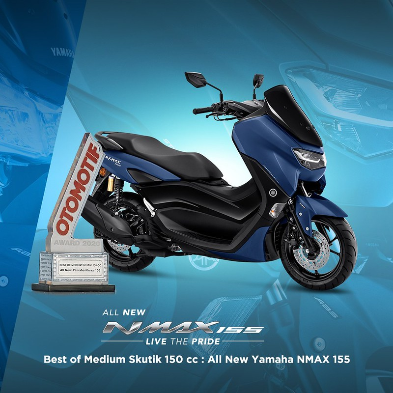 All New NMAX 155 - Best of Medium Skutik 150cc