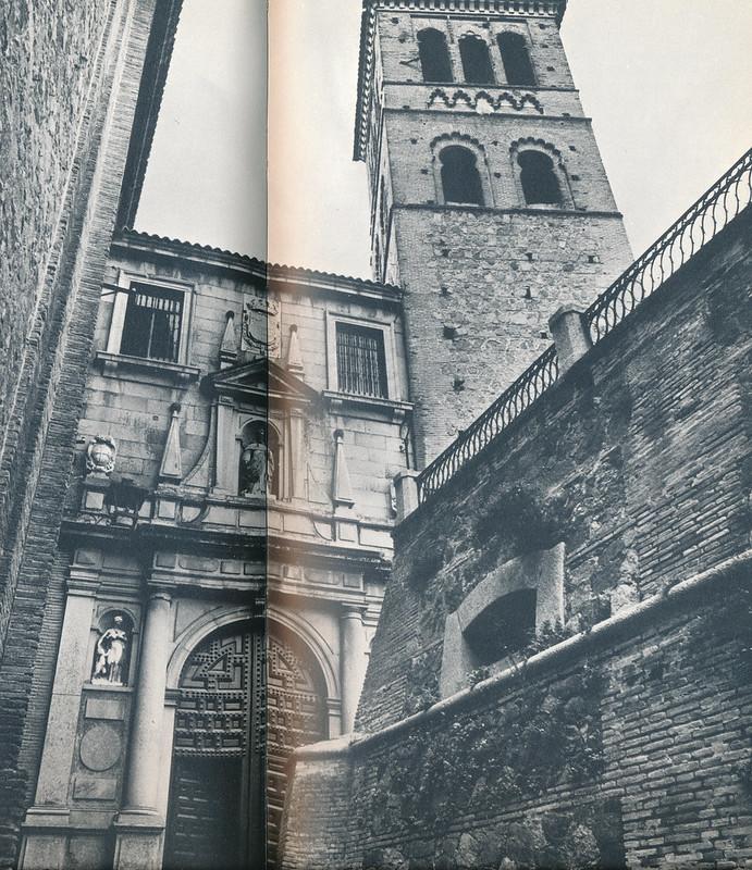 San Pedro Mártir y torre de san Román, junto a los antiguos depósitos de agua, en Toledo hacia 1970 fotografiado por Mario Carrieri