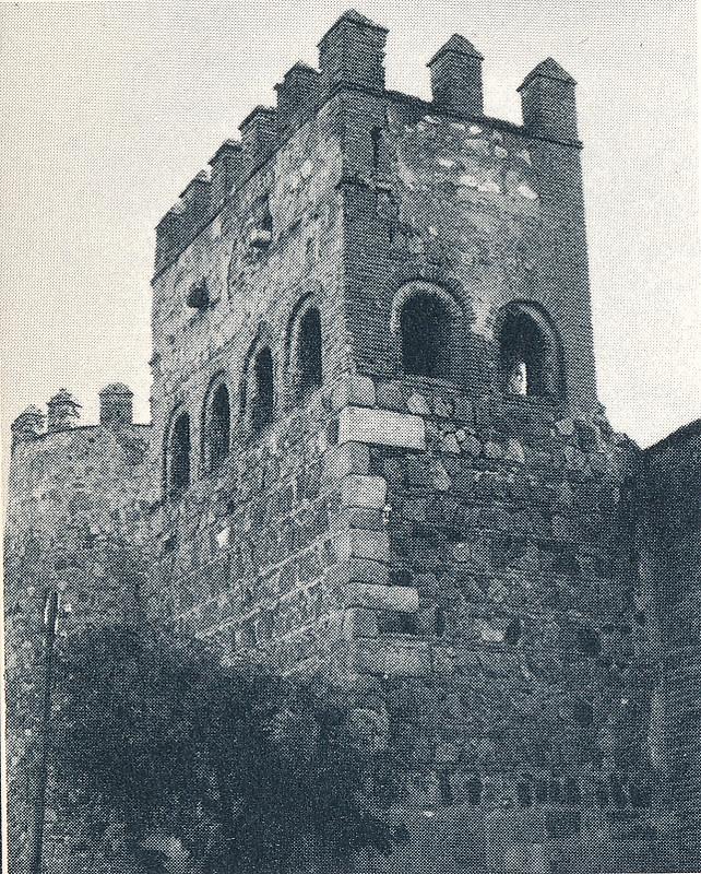 Torres de la Reina en Toledo hacia 1970 fotografiado por Mario Carrieri
