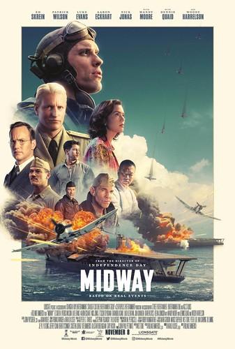 Cartel de la película Midway.