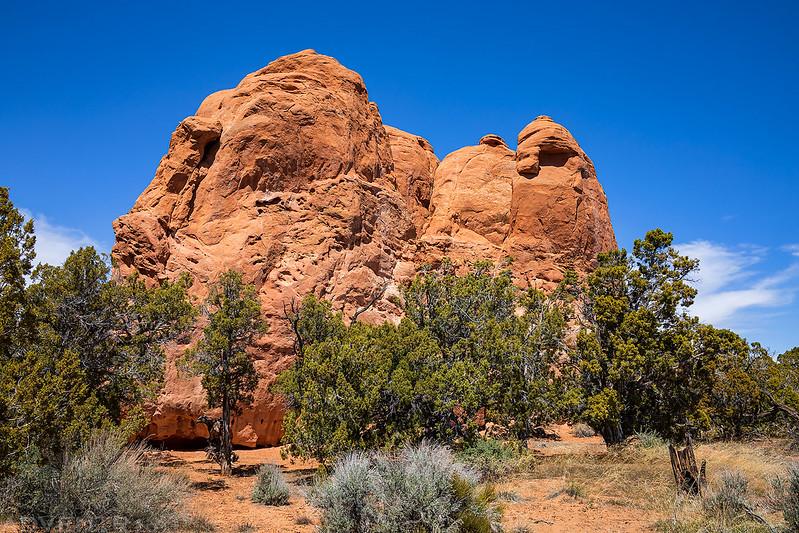 Trailside Sandstone Knoll