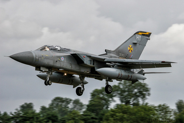 Tornado F3 ZE163 / HY - 111 Squadron RAF Leuchars