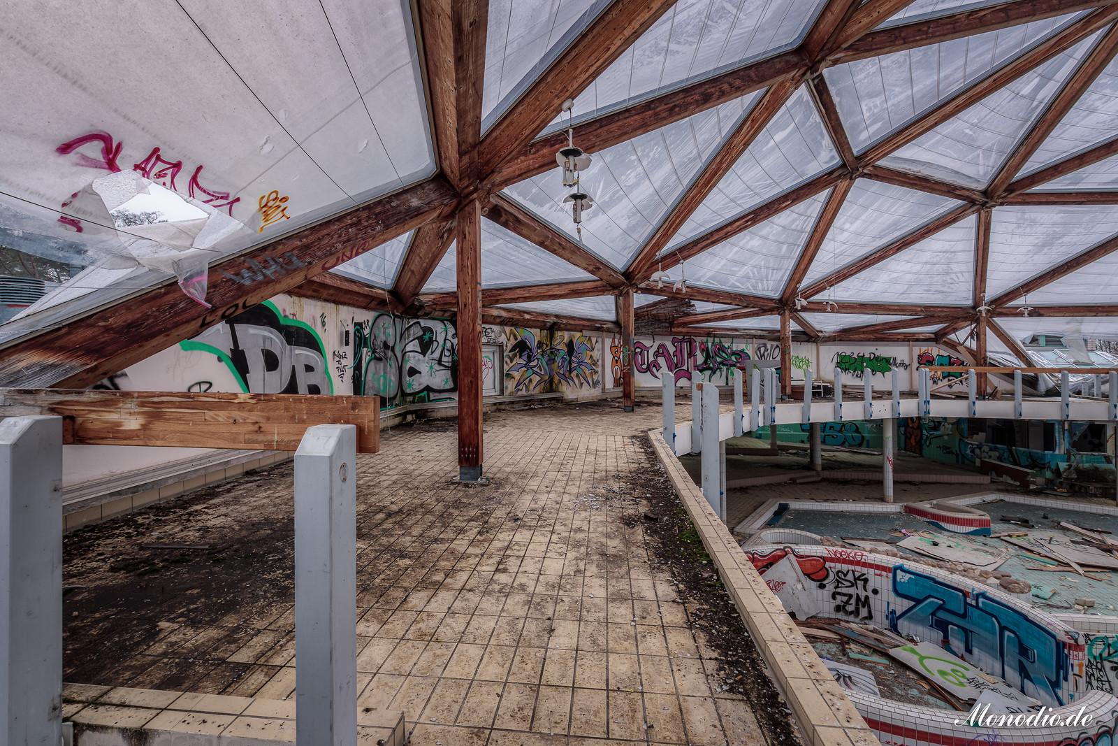 Das verlassene Spaßbad