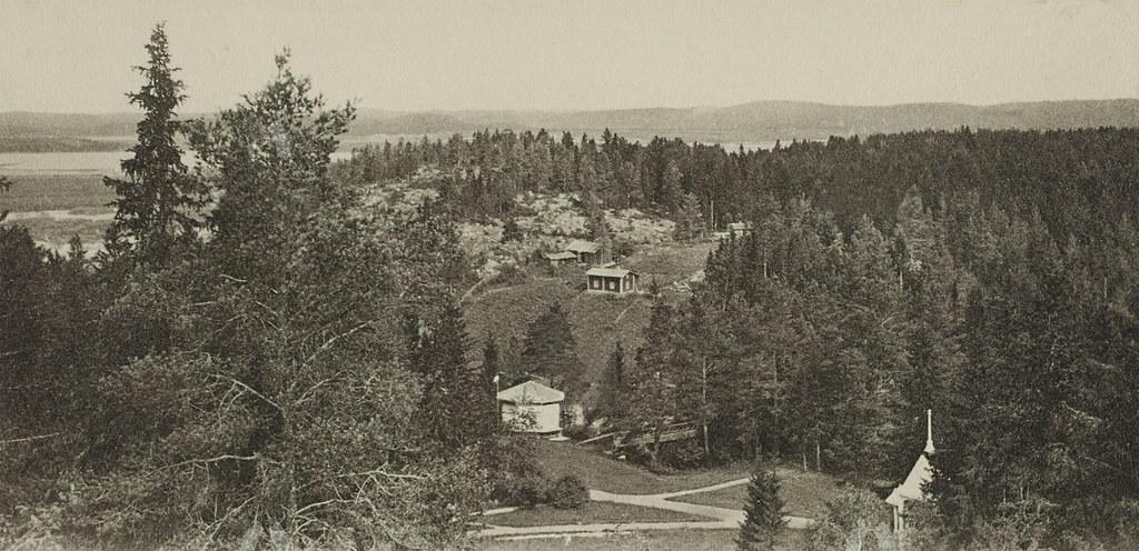 1900 Вид с горы Куха начало 1900