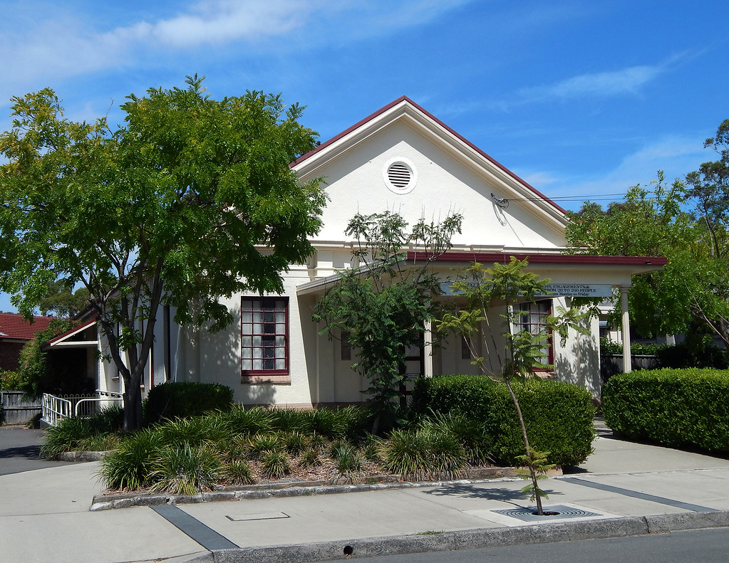 Community Hall, Marsfield, Sydney, NSW.