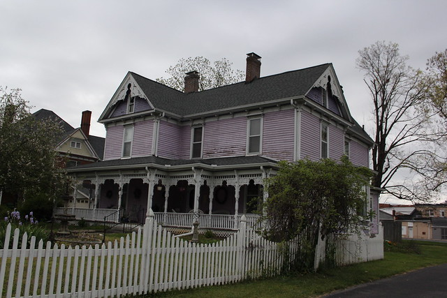old purple house