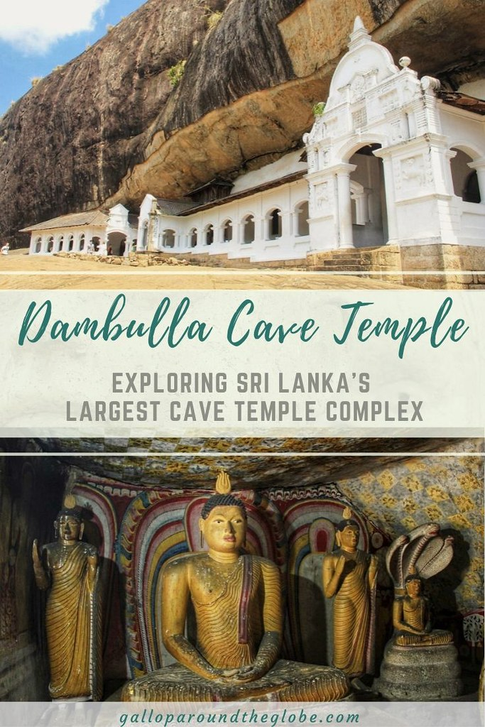 Dambulla Cave Temple_ Exploring Sri Lanka's Largest Cave Temple Complex | Gallop Around The Globe