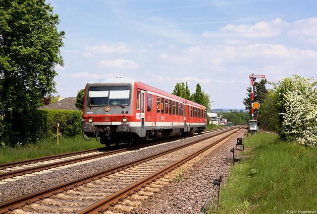 628 301 als RB92 von Andernach nach Kaisersesch bei Mendig am 4.05.14