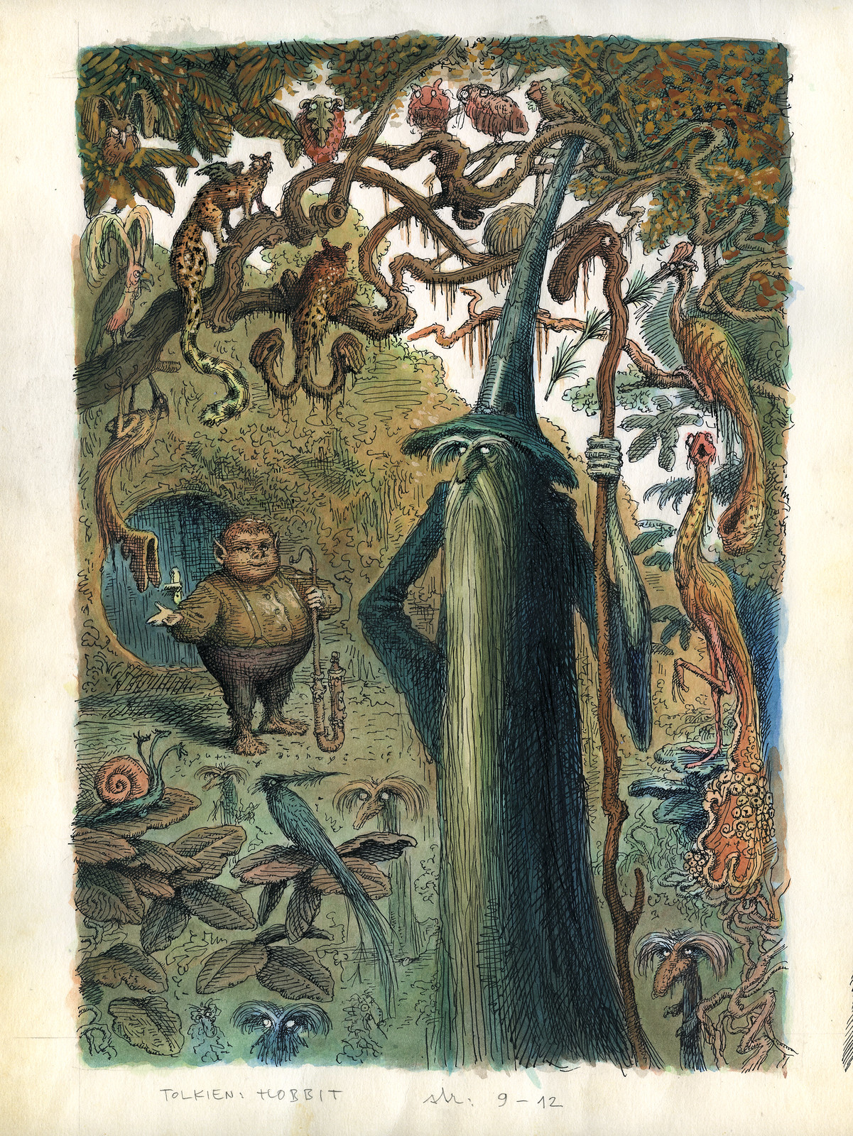 Peter Klucik -The Hobbit, Illustration 12