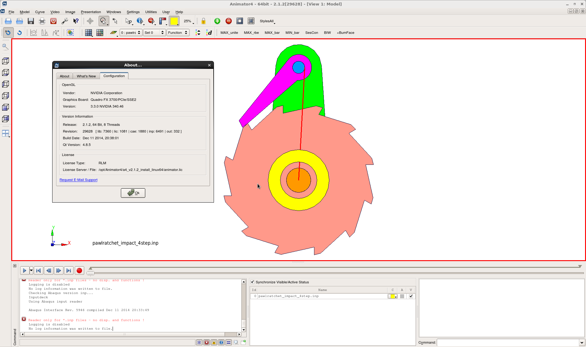 Working with GNS Animator4 v2.1.2 full license
