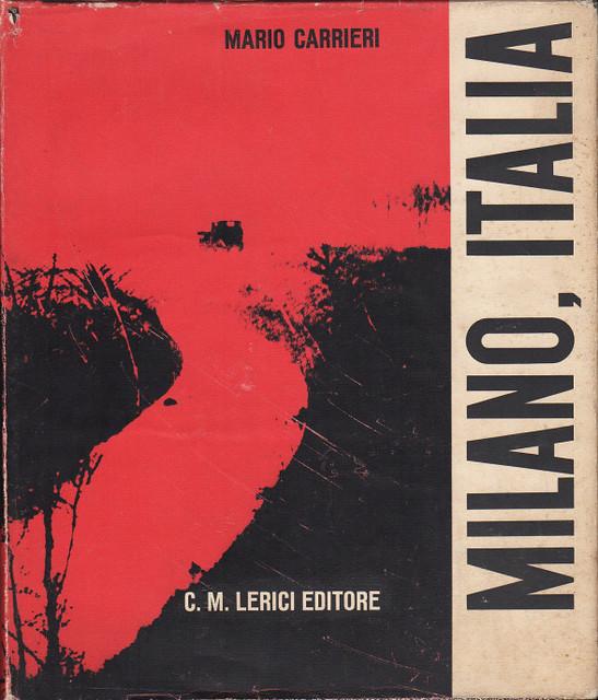 Portada del libro Milano, Italia de Mario Carrieri (1959)