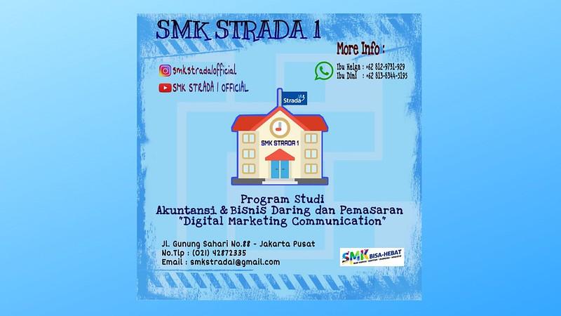 Pendaftaran Murid Baru SMK Strada 1 TP 2020-2021