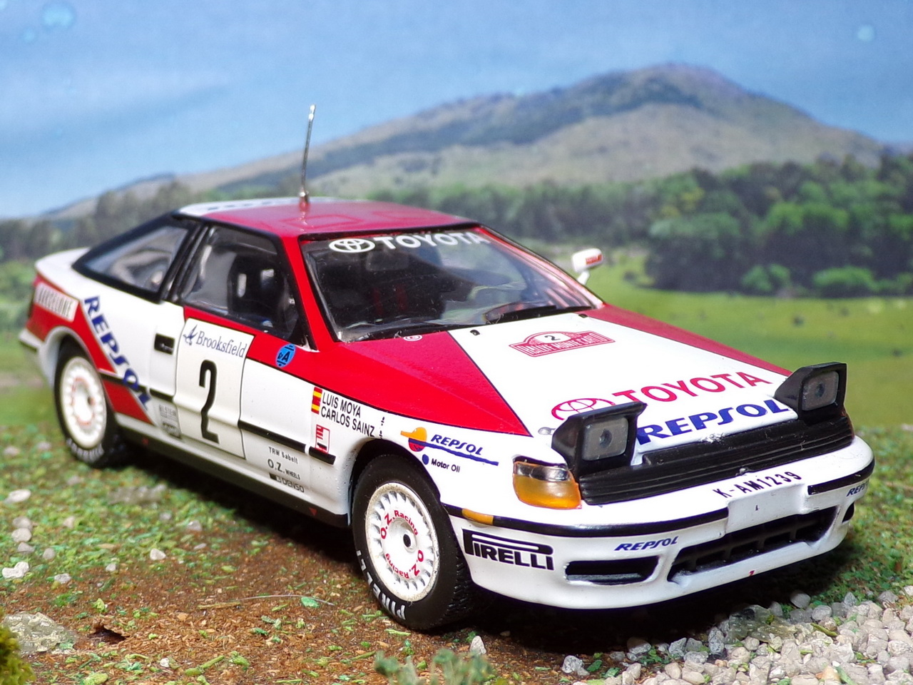 Toyota Celica GT-Four – Montecarlo 1991