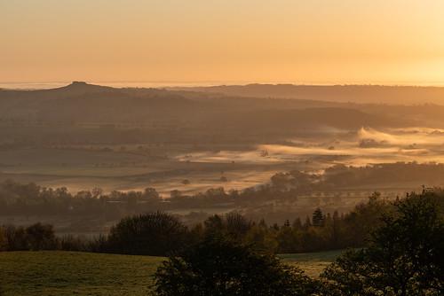 leeds otley otleychevin otleyengland england yorkshire landscape landscapes sun sunrise nature