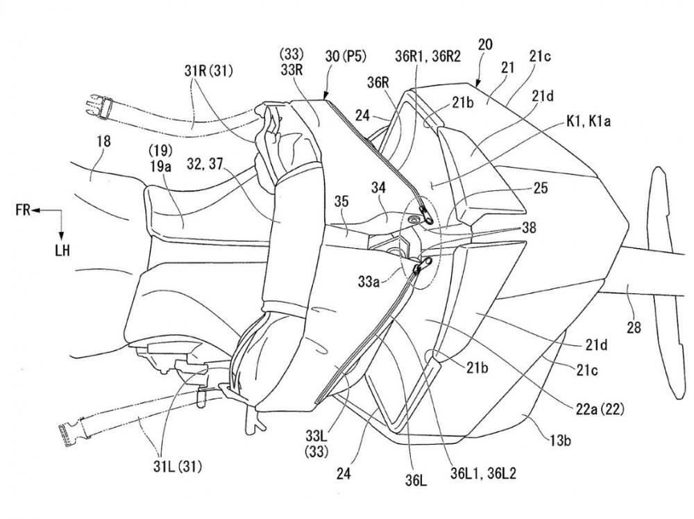 Honda Aerodynamics Seat Cowl BS