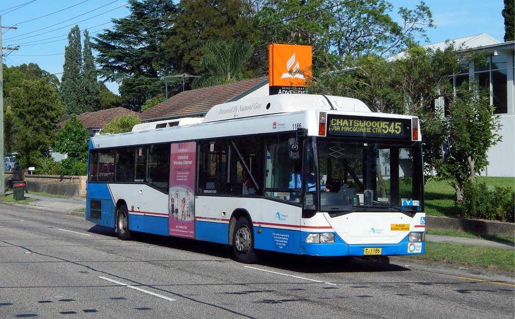 Bus 1186, Oatlands, Sydney, NSW.