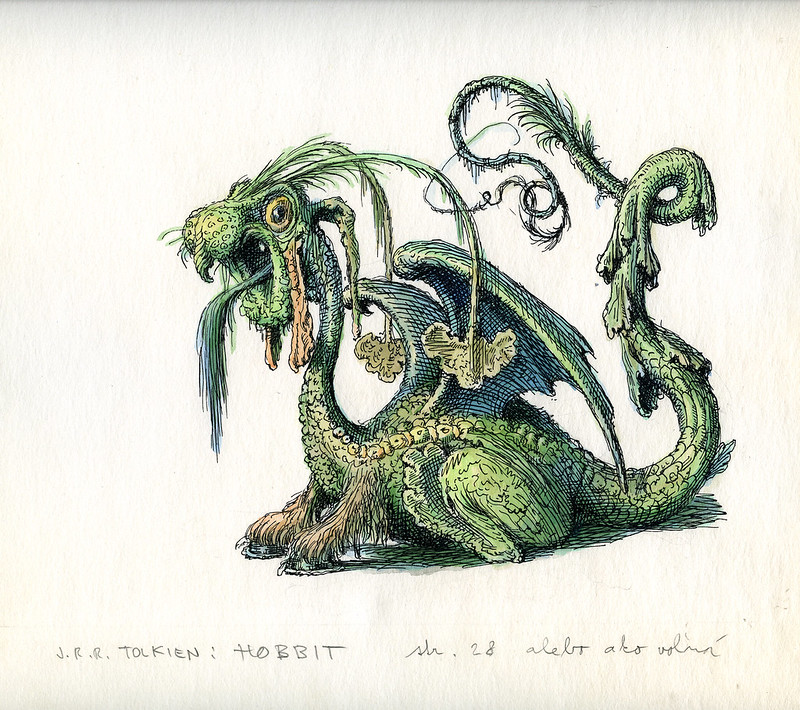 Peter Klucik -The Hobbit, Illustration 23