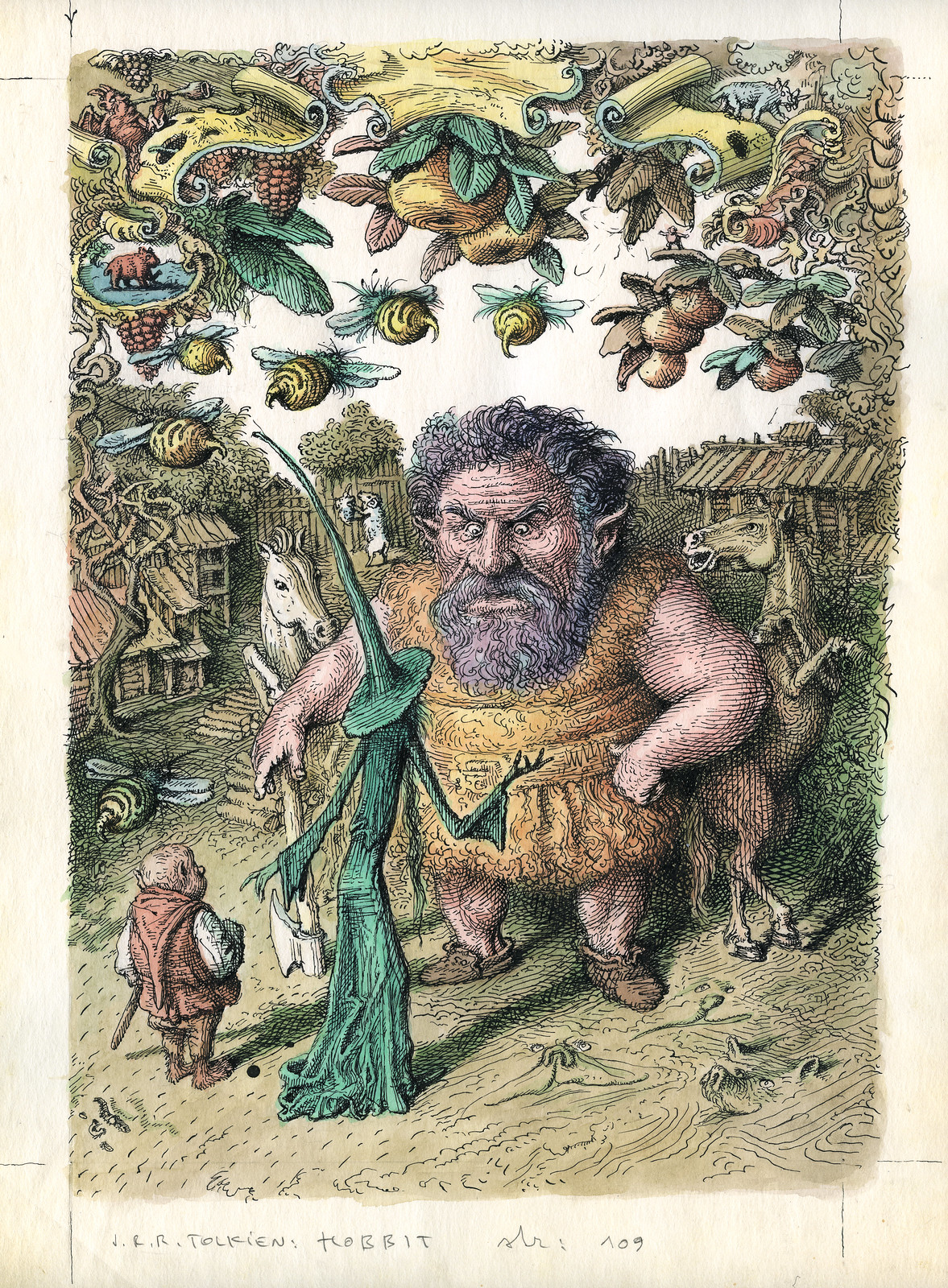 Peter Klucik -The Hobbit, Illustration 18