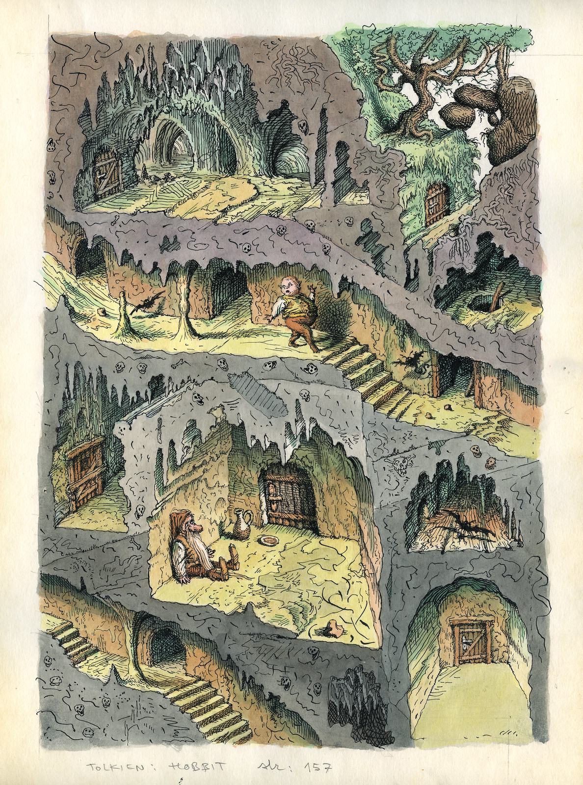 Peter Klucik -The Hobbit, Illustration 15
