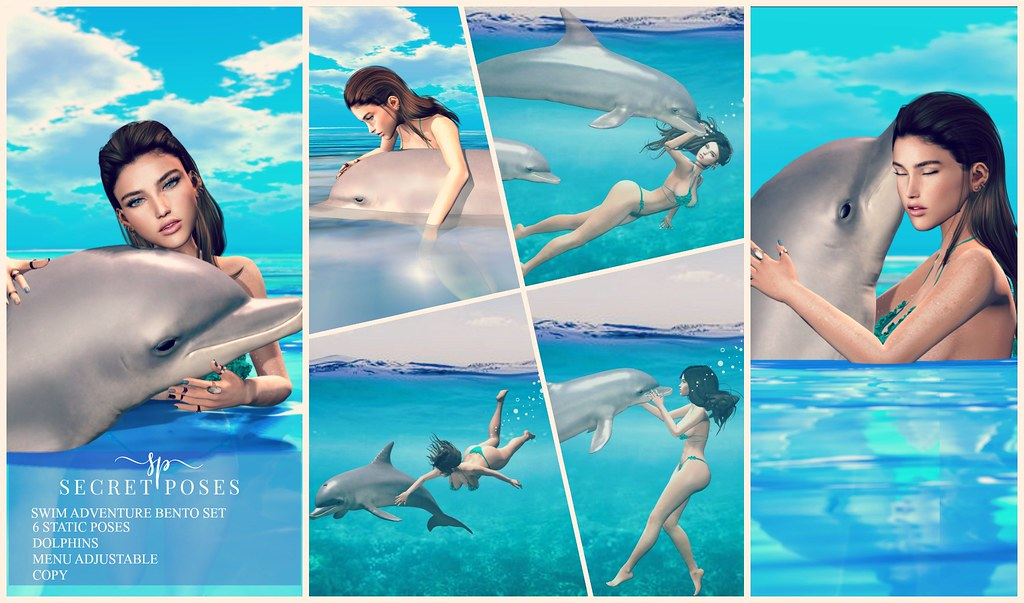 Secret Poses – Swim Adventure @ Shiny Shabby
