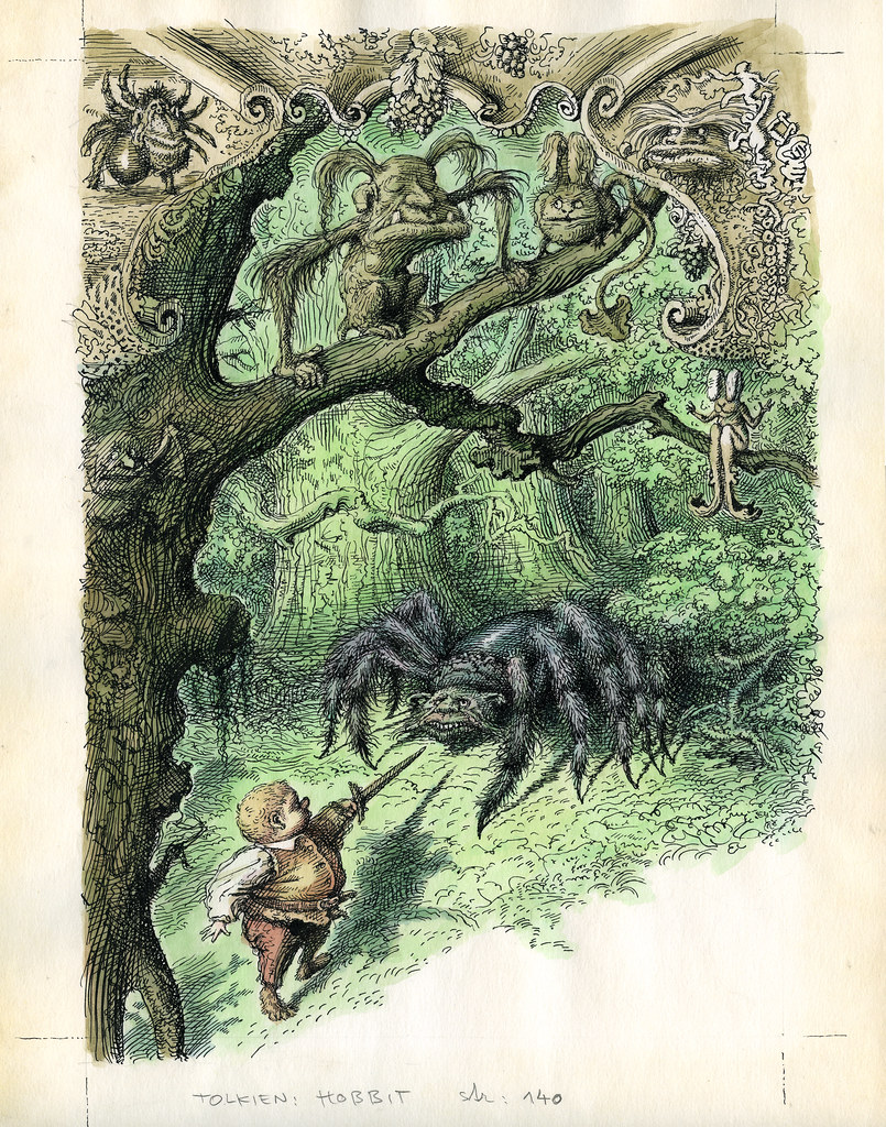 Peter Klucik -The Hobbit, Illustration 07