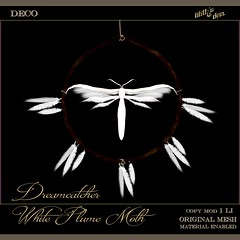 FF 2020 RFL: Lilith's Den - Dreamcatcher White Plume Moth Kopie