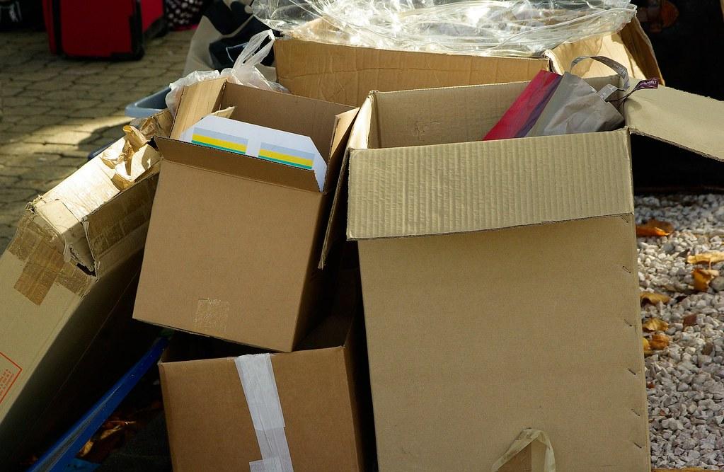 網購包裝垃圾。圖片來源:Pixabay圖庫