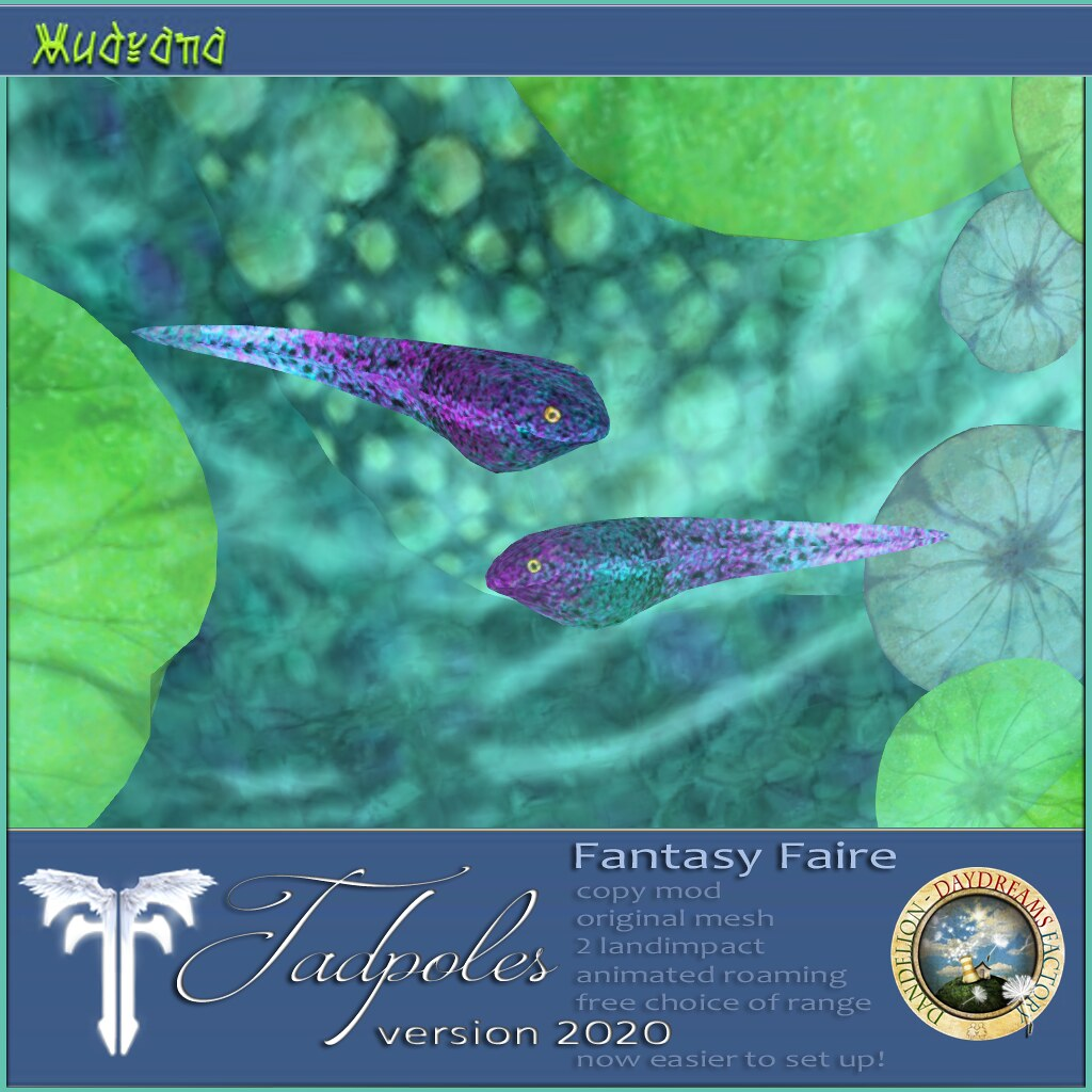 FF 2020 RFL Exclusive:  DDDF MUDRANA  Tadpoles v.2020 FANTASY FAIRE Exclusive