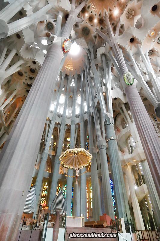 barcelona sagrada familia jesus wide