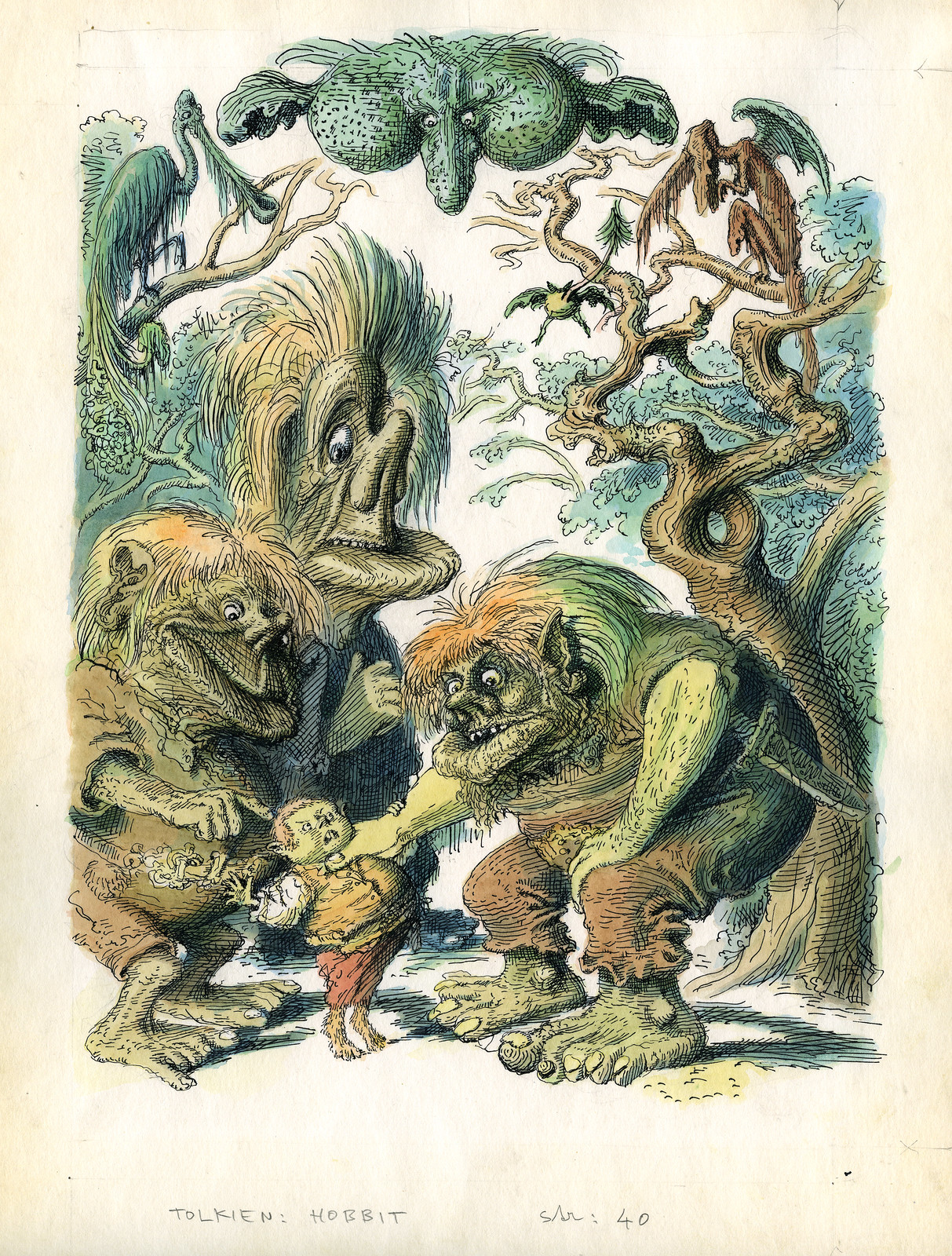 Peter Klucik -The Hobbit, Illustration 16