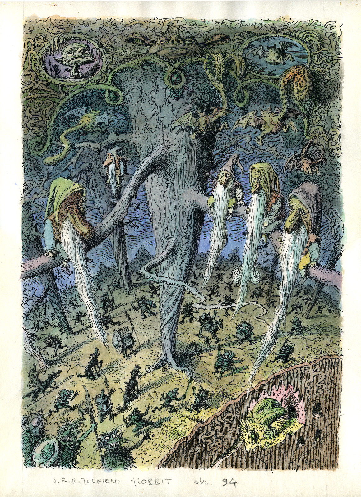 Peter Klucik -The Hobbit, Illustration 11