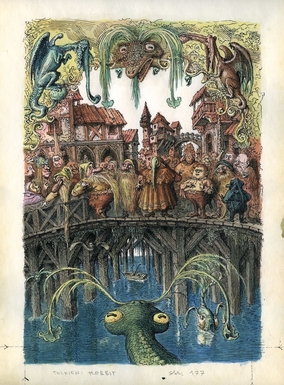 Peter Klucik -The Hobbit, Illustration 10