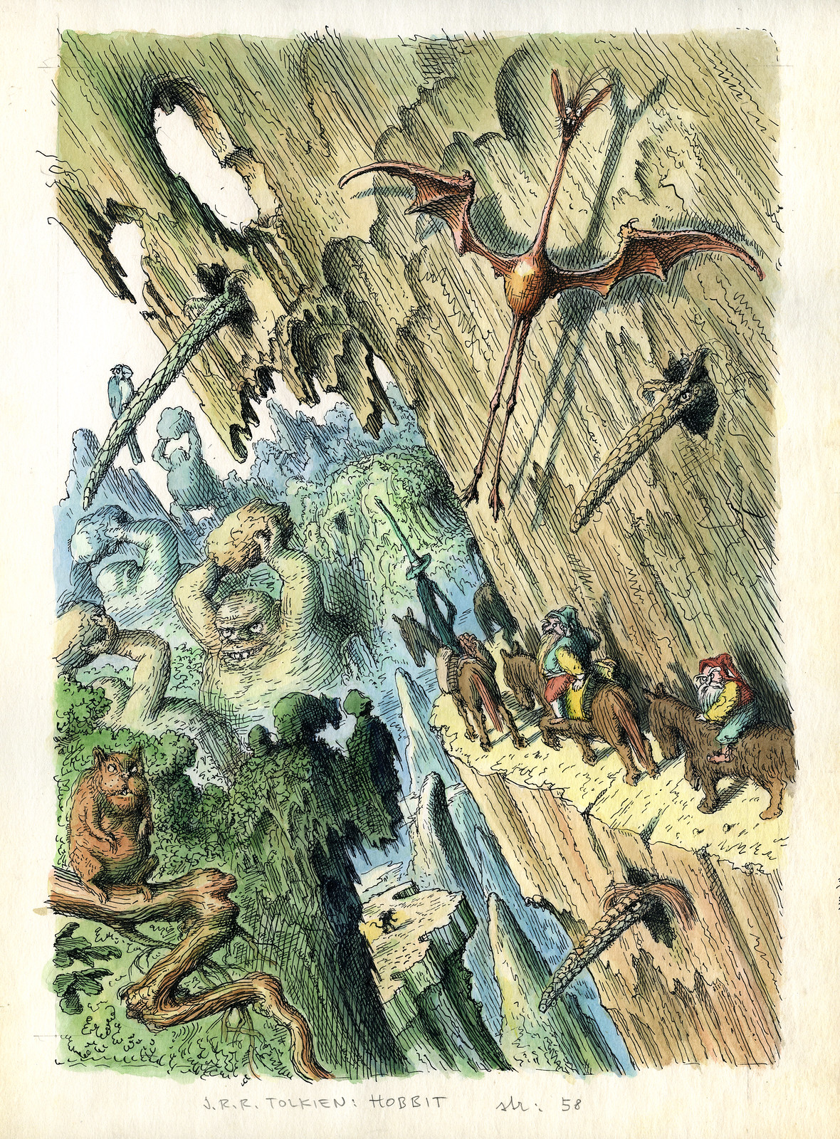 Peter Klucik -The Hobbit, Illustration 05