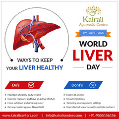 World Liver Day 2020–Ayurveda for Healthy liver