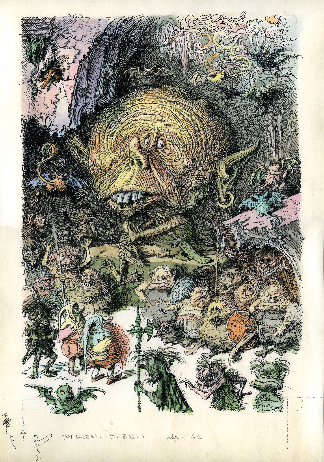 Peter Klucik -The Hobbit, Illustration 03