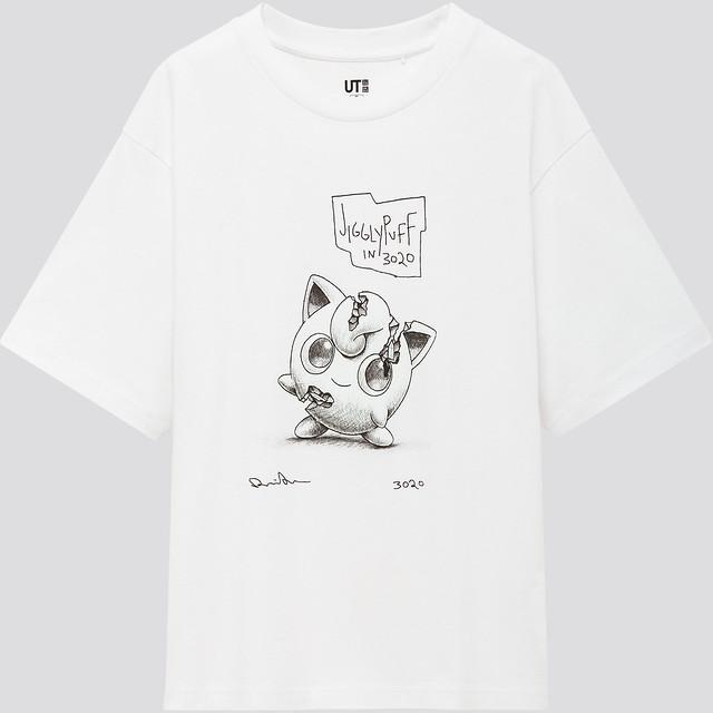 UNIQLO X 精靈寶可夢 X Daniel Arsham 最潮的黑白色系Pokémon UT!就決定是你了!