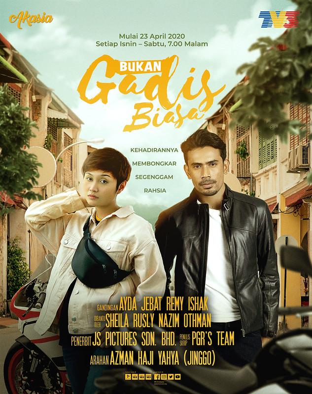 Akasia_ Bukan Gadis Biasa Poster