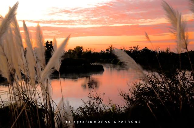 -AMANECIENDO EN CEIBAS.Sunrise..Prov de  ENTRE RIOS .ARGENTINA.