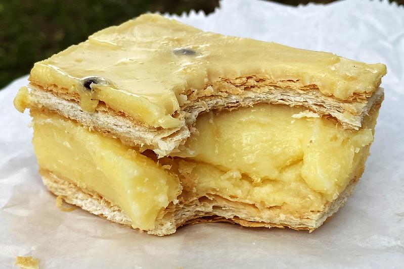 Vanilla slice: David's Cakes, Baulkham Hills