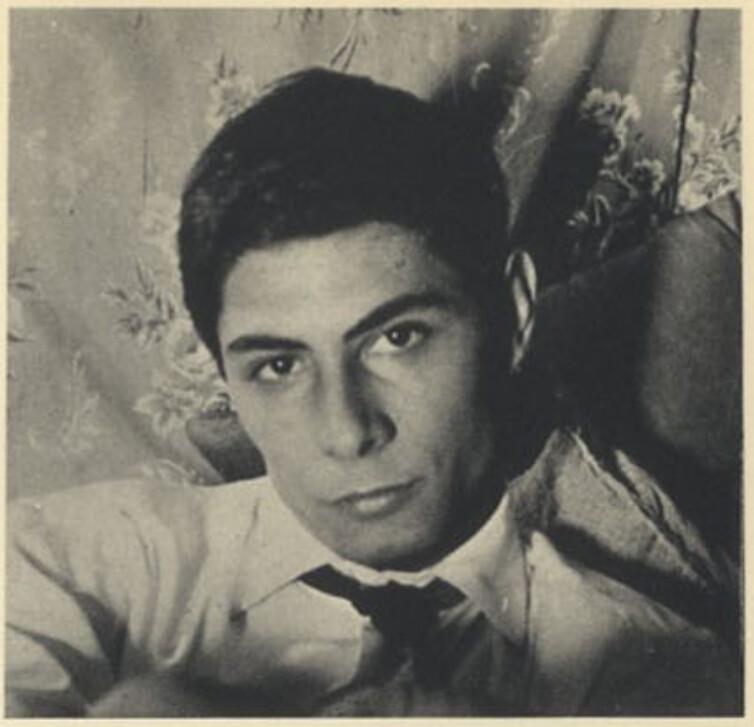 Mario Carrieri hacia 1959