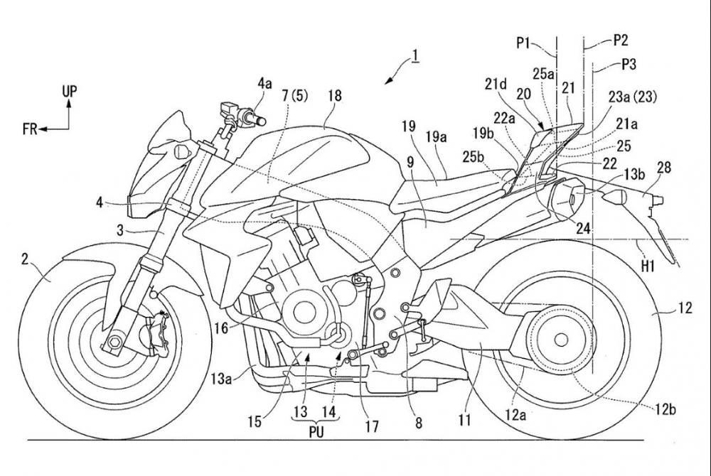 Honda Aerodynamics Seat Cowl