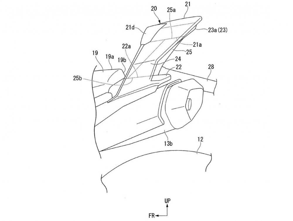 Honda Aerodynamics Seat Cowl SV