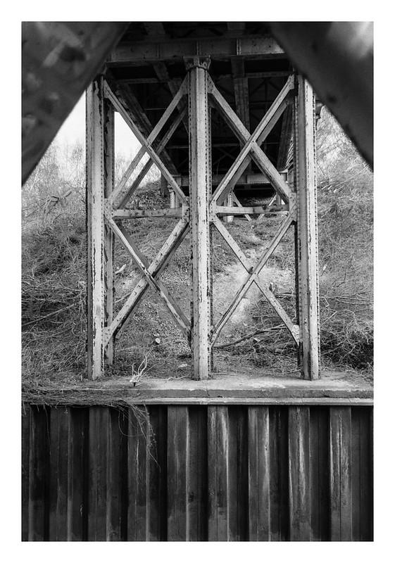 Beneath the abandoned bridge
