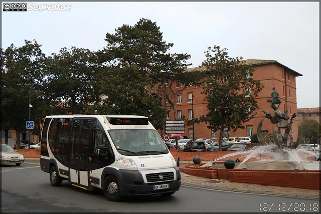 Dietrich Véhicules City 21 (Fiat Ducato) – SPL D'un Point À l'Autre / La Navette n°306