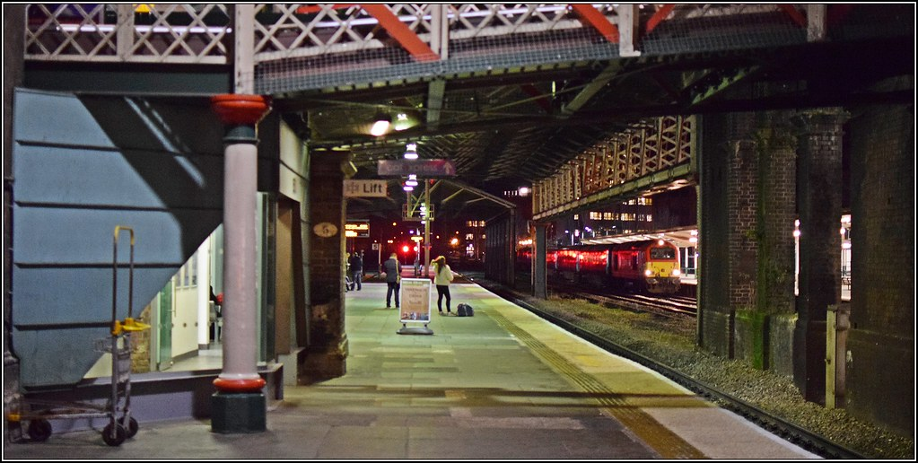 Sighs...that is a proper train over there by Colin Partington